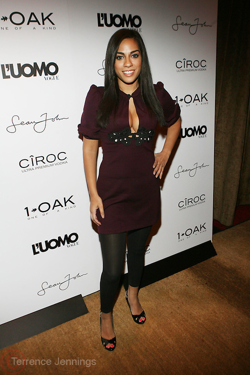 """Sharon Carpenter pictured at the cocktail party celebrating Sean """"Diddy"""" Combs appearance on the """" Black on Black """" cover of L'Uomo Vogue's October Music Issue"""