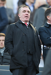 27.04.2013, St. James Park, Newcastle, ENG, Premier League, Newcastle United vs FC Liverpool, 35. Runde, im Bild Liverpool's Managing Director Ian Ayre during during the English Premier League 35th round match between Newcastle United and Liverpool FC at the St. James Park, Newcastle, Great Britain on 2013/04/27. EXPA Pictures © 2013, PhotoCredit: EXPA/ Propagandaphoto/ David Rawcliffe..***** ATTENTION - OUT OF ENG, GBR, UK *****