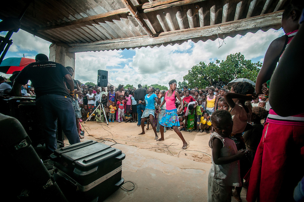 Dance contest in Zambia
