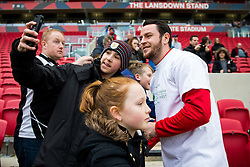 Lee Tomlin of Bristol City signs autographs - Rogan Thomson/JMP - 04/03/2017 - FOOTBALL - Ashton Gate - Bristol, England - Bristol City v Burton Albion - Sky Bet EFL Championship.