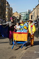 Performers Andy Gray, Allan Stewart and Grant Stott today launched the Christamas pantomime Aladdin,  ten years after they first appeared together in the same production. Edinburgh,  9 September 2014 Ger Harley | StockPix.eu