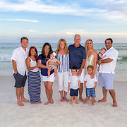 Cangelosi-Evans Family Beach Photos