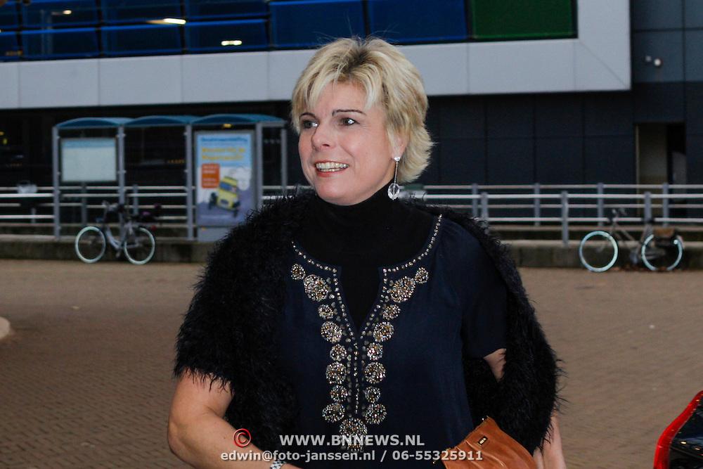 NLD/Scheveningen/20121030 - Uitreiking Talent voor Taal 2012 prijs, aankomst Pr. Laurentien