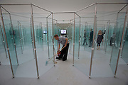 """Belgian Pavillion. Eric Duyckaerts, """"Palais des Glaces et de la Decouverte"""", 2007."""