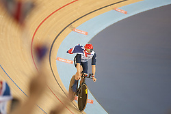 © London News Pictures. 27/08/2012. Mark Lee Colbourne GBR - Men's individual C1 pursuit - gold medal winner at the Paralympic Games 2012, Stratford, London, UK. Photo credit should read Manu Palomeque/LNP