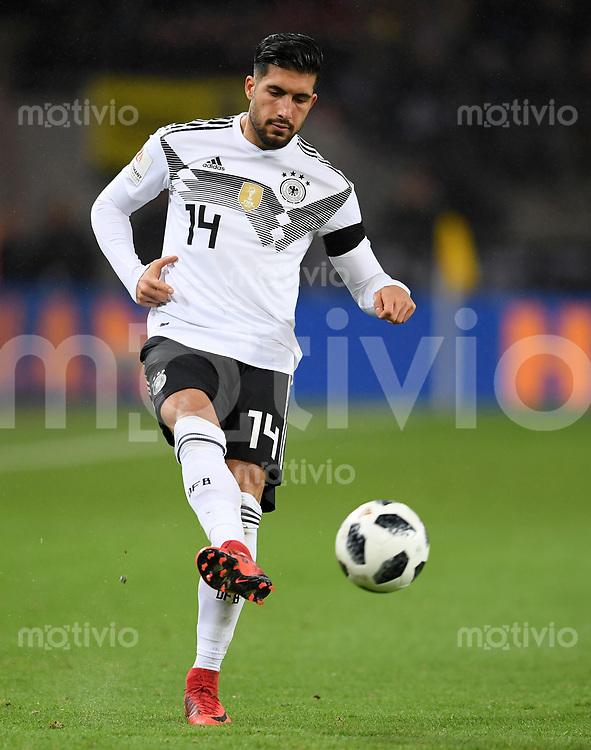 FUSSBALL  INTERNATIONAL TESTSPIEL  IN KOELN   Deutschland - Frankreich        14.11.2017 Emre Can  (Deutschland)