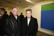 Bell and Langlands. Ellsworth Kelly exhibition opening. Serpentine Gallery and afterwards at the River Cafe. London. 17 March 2006. ONE TIME USE ONLY - DO NOT ARCHIVE  © Copyright Photograph by Dafydd Jones 66 Stockwell Park Rd. London SW9 0DA Tel 020 7733 0108 www.dafjones.com