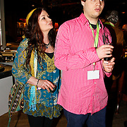 NLD/Harderwijk/20100320 - Opening nieuwe Dolfinarium seizoen met nieuwe show, Belinda Meuldijk en zoon Yoshi