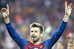 25.05.2012, Vicente Calderon Stadion, Madrid, ESP, Kings Cup Finale, FC Barcelona vs Athletic Bilbao, im Bild Barcelona's Gerard Pique // during the Spanish Kings Cup final match between Fc Barcelona and Athletic Bilbao at the Vicente Calderon Stadium, Madrid, Spain on 2012/05/25. EXPA Pictures © 2012, PhotoCredit: EXPA/ Alterphotos/ Alvaro Hernandez..***** ATTENTION - OUT OF ESP and SUI *****