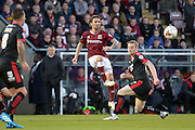 Northampton Town Striker Ricky Holmes during the Sky Bet League 2 match between Northampton Town and Crawley Town at Sixfields Stadium, Northampton, England on 19 April 2016. Photo by Dennis Goodwin.
