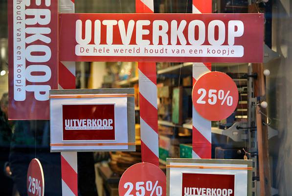 Nederland, Nijmegen, 6-1-2012Uitverkoop.Foto: Flip Franssen/Hollandse Hoogte