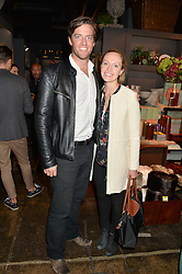 DAVID & SOPHIE STEED at a party to celebrate the publication of Flourish by Willow Crossley held at OKA, 155-167 Fulham Rd, London on 4th October 2016.