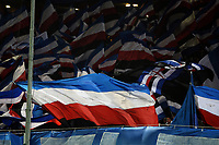 Sampdoria Supporters Tifosi <br /> Genova 05-01-2016 Stadio Marassi. Football Calcio Serie A 2015/2016 Genoa - Sampdoria / foto Image Sport/Insidefoto