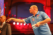 Vincent van der Voort during the First Round of the BetVictor World Matchplay Darts at the Empress Ballroom, Blackpool, United Kingdom on 19 July 2015. Photo by Shane Healey.