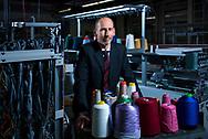 L'entreprise Steiger qui conçoit des machines à tricoter et son directeur Pierre-Yves Bonvin, le 8 fevrier à Vionnaz VS (OLIVIER MAIRE)