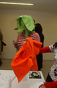 Katie Morrison. Tropicalia: A Revolution  in Brazilian Culture. Barbican. 15 February 2006. -DO NOT ARCHIVE-© Copyright Photograph by Dafydd Jones 66 Stockwell Park Rd. London SW9 0DA Tel 020 7733 0108 www.dafjones.com