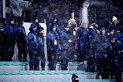 February 13, 2018 - Stockholm, Sweden - OS 2018 i Pyeongchang. Sprint, damer. Rasmus Dahlin, ishockeyspelare Sverige, gäspar. landslaget (Credit Image: © Orre Pontus/Aftonbladet/IBL via ZUMA Wire)