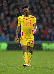 Dejected looking Liverpool's Raheem Sterling - Photo mandatory by-line: Alex James/JMP - Mobile: 07966 386802 - 23/11/2014 - Sport - Football - London -  - Crystal palace  v Liverpool - Barclays Premier League