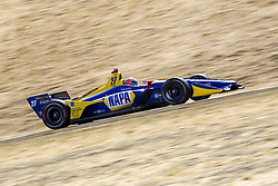 September 14, 2018 - Sonoma, California, United Stated - ALEXANDER ROSSI (27) of the United States takes to the track to practice for the Indycar Grand Prix of Sonoma at Sonoma Raceway in Sonoma, California. (Credit Image: © Justin R. Noe Asp Inc/ASP via ZUMA Wire)