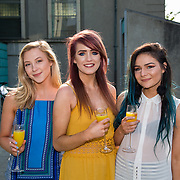 11.05. 2017.                                                 <br /> Over 20 leading Irish and international fashion media and influencers converged on Limerick for 24 hours on, Thursday, 11th May for a showcase of Limerick's fashion industry, culminating with Limerick School of Art & Design, LIT, presenting the LSAD 360° Fashion Show, sponsored by AIB.<br /> Pictured at the event were, Bonnie Hickey, Castleconnell Co. Limerick, Erica Collins, Cork City and Kelly O'Leary, Bantry Co. Cork. Picture: Alan Place