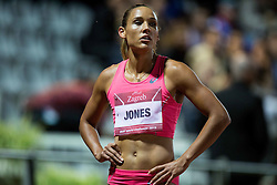 Lolo Jones of USA after she competed in  100m Hurdles Women during IAAF World Challenge Zagreb - The 65th Hanzekovic Memorial Meeting, on September 8, 2015, in Stadium Mladost, Zagreb, Croatia. Photo by Vid Ponikvar / Sportida