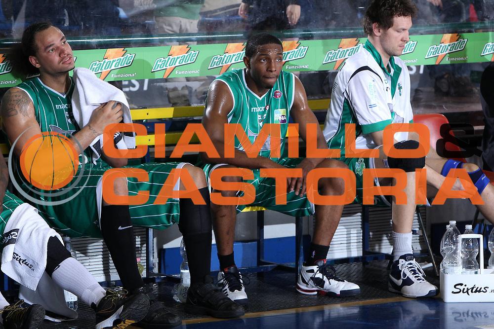 DESCRIZIONE : Ferrara Lega A 2009-10 Basket Carife Ferrara Air Avellino<br /> GIOCATORE : Chevon Troutman DeMarcus Nelson<br /> SQUADRA : Air Avellino<br /> EVENTO : Campionato Lega A 2009-2010<br /> GARA : Carife Ferrara Air Avellino<br /> DATA : 14/03/2010<br /> CATEGORIA : Delusione<br /> SPORT : Pallacanestro<br /> AUTORE : Agenzia Ciamillo-Castoria/G.Contessa<br /> Galleria : Lega Basket A 2009-2010 <br /> Fotonotizia : Ferrara Campionato Italiano Lega A 2009-2010 Carife Ferrara Air Avellino<br /> Predefinita :