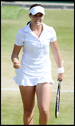 Laura Robson beats Marina Erakovic at<br /> The All England Lawn Tennis Club, Wimbledon, United Kingdom<br /> Saturday, 29th June 2013<br /> Picture by Andrew Parsons / i-Images