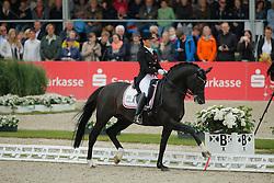 Svane Rikke, (DEN), Finckenstein TSF<br /> Grand Prix Special<br /> CDIO Hagen 2015<br /> © Hippo Foto - Stefan Lafrentz