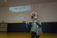 "The One Earth Film Festival, a Chicago festival that showcases films that deal with the environment showcased the movie ""Making Waves: Battle for the Great Lakes"" by Brendan and Jessica Walsh at the Jackson Park Fieldhouse located at 6400 S. Stony Island Saturday afternoon, March 3rd, 2018.<br /> <br /> 5639, 5633, 5626 – President of the Jackson Park Advisory Council, Louise McCurry welcomes everyone to the event.<br /> <br /> Please 'Like' ""Spencer Bibbs Photography"" on Facebook.<br /> <br /> Please leave a review for Spencer Bibbs Photography on Yelp.<br /> <br /> Please check me out on Twitter under Spencer Bibbs Photography.<br /> <br /> All rights to this photo are owned by Spencer Bibbs of Spencer Bibbs Photography and may only be used in any way shape or form, whole or in part with written permission by the owner of the photo, Spencer Bibbs.<br /> <br /> For all of your photography needs, please contact Spencer Bibbs at 773-895-4744. I can also be reached in the following ways:<br /> <br /> Website – www.spbdigitalconcepts.photoshelter.com<br /> <br /> Text - Text ""Spencer Bibbs"" to 72727<br /> <br /> Email – spencerbibbsphotography@yahoo.com"