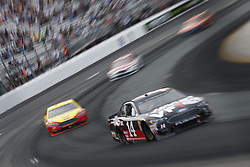 July 22, 2018 - Loudon, New Hampshire, United States of America - Clint Bowyer (14) battles for position during the Foxwoods Resort Casino 301 at New Hampshire Motor Speedway in Loudon, New Hampshire. (Credit Image: © Justin R. Noe Asp Inc/ASP via ZUMA Wire)