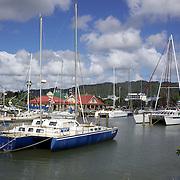 Yachts moored in the Town basin marina, Whangarei, New Zealand,  23rd November 2010. Photo Tim Clayton.