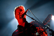 WA - MAY 25: Josh Homme of Queens of the Stones Age performs live onstage at the Gorge Amphitheater on May 25, 2014 in George, Washington. (Photo by Steven Dewall)