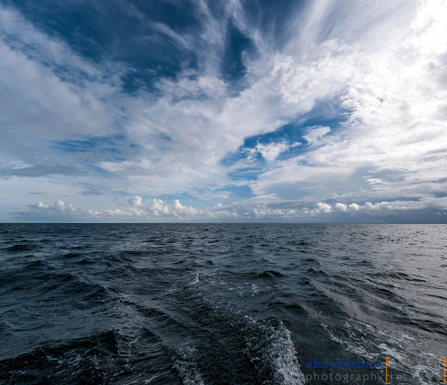 JUNE 12, 2014 - Atlantic Ocean, Off of the Outer Banks of NC, USA - Onboard images taken during the delivery of S/V Raekved from the Florida Keys to Annapolis, MD. - IMAGE © 2014 Andy Herbick | www.andyherbickphotography.com - ALL RIGHTS RESERVED.