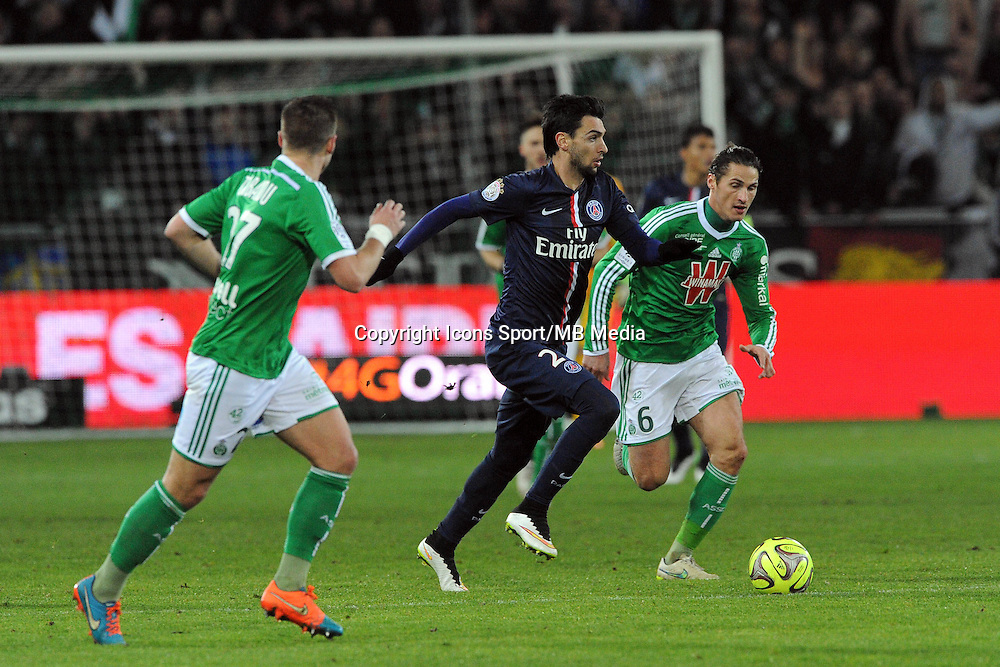 Javier PASTORE   - 25.01.2015 - Saint Etienne / PSG  - 22eme journee de Ligue1<br />