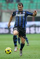"""dejan stankovic inter<br /> Milano 28/11/2010 Stadio """"Giuseppe Meazza""""<br /> Campionato Italiano Serie A 2010/2011<br /> Inter vs Parma<br /> Foto Luca Pagliaricci Insidefoto"""