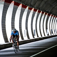 James Brickell, Italy, on a shoot for Kinesis bikes..