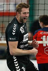20181124 NED: Volleyball Top League ZVH - VCV: Zevenhuizen<br />Wouter Van Ark (10) of MKB Accountants VCV <br />©2018-FotoHoogendoorn.nl / Pim Waslander