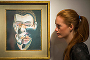 FRANCIS BACON (1909-1992)<br /> Studies for Portrait Painted in 1976.<br /> Estimate: $12,000,000-18,000,000Christie's showcases  the London Post-War and Contemporary Art Evening Sale in October, alongside an exceptional selection of works from the  New York sales in November of Impressionist, Modern, Post-War And  Contemporary Art. The works will be on view to the public from Saturday 10 October to Saturday 17 October at Christie's King Street. The highlight is  Amedeo Modigliani's, 'Nu couché (Reclining  Nude)', painted in 1917-18, which has an estimate in the region of $100 million.