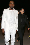03.MARCH.2013. PARIS<br /> <br /> KIM KARDASHIAN AND HER LOVER KANYE WEST ARE SEEN LEAVING THE GIVENCHY FASHION SHOW AND HEADING TO THEIR HOTEL DURING THE FALL-WINTER 2013/2014 READY-TO-WEAR FASHION WEEK, IN PARIS.<br /> <br /> BYLINE: EDBIMAGEARCHIVE.CO.UK<br /> <br /> *THIS IMAGE IS STRICTLY FOR UK NEWSPAPERS AND MAGAZINES ONLY*<br /> *FOR WORLD WIDE SALES AND WEB USE PLEASE CONTACT EDBIMAGEARCHIVE - 0208 954 5968*