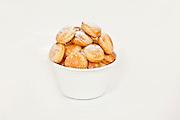 cream puffs with sugar