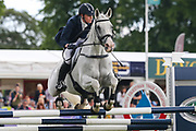 Zebedee De Foja ridden by Olivia Wilmot in the Equi-Trek CCI-4* Show Jumping during the Bramham International Horse Trials 2019 at Bramham Park, Bramham, United Kingdom on 9 June 2019.