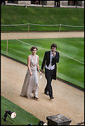 CHARLOTE MACLEAN; OLIVER DAVIES, The Tercentenary Ball, Worcester College. Oxford. 27 June 2014