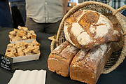 Spelt, Triticum sp.<br /> Showcase: 'Elwha River'<br /> Breeder: Kevin Murphy, Washington State University Baker: Ulises Alvarez, Grano Breads