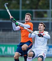 AMSTELVEEN  - Hockey -  Sander de Wijn . Oefenwedstrijd Nederland-Spanje (2-1) , ter voorbereiding van het WK.   COPYRIGHT KOEN SUYK