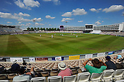 The Ageas Bowl on a hot sunny afternoon during the Specsavers County Champ Div 1 match between Hampshire County Cricket Club and Surrey County Cricket Club at the Ageas Bowl, Southampton, United Kingdom on 18 July 2016. Photo by Graham Hunt.