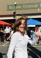 Bellmore, New York, U.S. 22nd September 2013.  Nassau County District Attorney KATHLEEN RICE (Democrat), running for re-election in November to a third term in office, makes a campaign visit at the 27th Annual Bellmore Festival, featuring family fun with exhibits and attractions in a 25 square block area, with over 120,000 people expected to attend over the weekend.