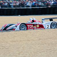 #2 Audi R10 TDI - Audi Sport North America (Drivers - Rinaldo Capello, Allan McNish and Tom Kristensen) LMP1, Le Mans 24Hr 2007