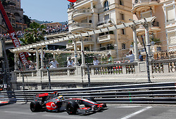 MONTE-CARLO, MONACO - Sunday, May 24, 2009: Lewis Hamilton (GBR McLaren) during the Monaco Formula One Grand Prix at the Monte-Carlo Circuit. (Pic by Juergen Tap/Hoch Zwei/Propaganda)