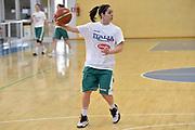 Francesca Dotto<br /> Raduno Nazionale Italiana Femminile Senior - Allenamento<br /> FIP 2017<br /> Montegrotto Terme, 28/02/2017<br /> Foto Ciamillo - Castoria