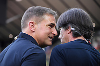 FUSSBALL UEFA U21-EUROPAMEISTERSCHAFT FINALE 2019  in Italien  Spanien - Deutschland   30.06.2019 Trainer Stefan Kuntz (li, Deutschland) mit Bundestrainer Trainer Joachim Loew (Deutschland) beim ARD Interview